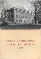 Ecole Catholique D'Arts Et Métiers, Lyon - Carnet Complet 18 Cartes: Laboratoire, Atelier, Forges, Machines... - School
