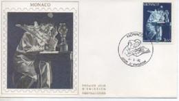 /FDC MONACO    PIERROT ECRIVAIN    N° YVERT ET TELLIER  1738    1990 - FDC