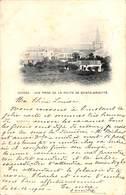 Fosses - Vue Prise De La Route De Sainte-Brigitte (1900, église) - Fosses-la-Ville