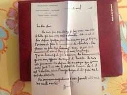 Gouvernement Français Dans Les Territoires Occupés 1944 - Vecchi Documenti