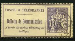 FRANCE   Timbre Téléphone   N° Y&T  TEL22  (o) - Telegrafi E Telefoni