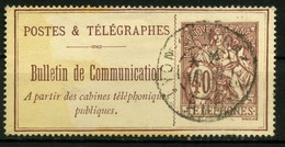 FRANCE   Timbre Téléphone   N° Y&T  TEL26  (o) - Telegrafi E Telefoni