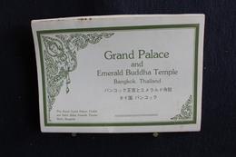 I-115 / 12 Post Card  / Thaïlande , Bangkok, Grand Palace And Temple Of The Emerald Buddha / 12 Cartes-vues - Thaïlande