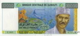 Djibouti 10000 Francs (P45) -UNC- - Gibuti
