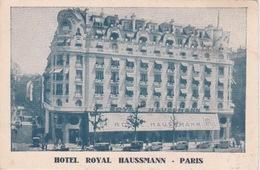 75 - PARIS - HOTEL ROYAL HAUSSMAN - Francia