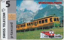 SUISSE - PHONE CARD - TAXCARD-PRIVÉE * CHIP *** TRAIN - ZUG - 150 ANS / 16 *** - Svizzera