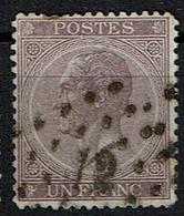 21  Obl  LP 12 Anvers - 1865-1866 Profile Left