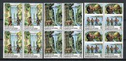 Guinea Ecuatorial 1989. Edifil 112-114 X 4 ** MNH. - Äquatorial-Guinea