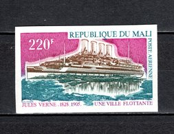 MALI  PA N° 242  NON DENTELE   NEUF SANS CHARNIERE  COTE  ? €  ESPACE  JULES VERNE  BATEAUX - Mali (1959-...)