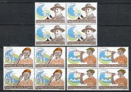 Guinea Ecuatorial 1990. Edifil 120-22 X 4 ** MNH. - Äquatorial-Guinea