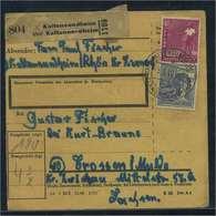PAKETKARTE 1947 Nr 954 Siehe Beschreibung (115382) - Gemeinschaftsausgaben