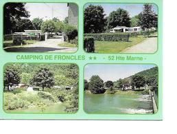 52 FRONCLES Cpm Camping Des DEUX PONTS - Francia