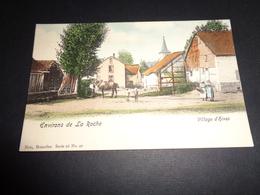 Belgique  België  ( 145 )  Environs De La Roche  Village D' Hives - Nels Serie 26 N° 90 En Couleurs - La-Roche-en-Ardenne