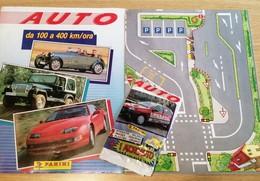 Auto Da 100 A 400 Km/ora Album Vuoto+tabellone Pista+bustina Chiusa Panini 1991 - Panini
