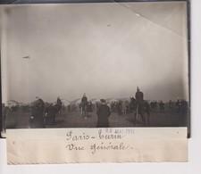 PARIS TURIN 1911  VUE GENERAL  18*13CM Maurice-Louis BRANGER PARÍS (1874-1950) - Aviación