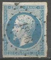 FRANCE - Oblitération Petits Chiffres LP 1806 LUSIGNAN (Vienne) - 1849-1876: Classic Period