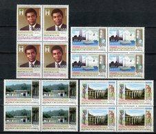 Guinea Ecuatorial 1993. Edifil 174-77 X 4 ** MNH. - Äquatorial-Guinea