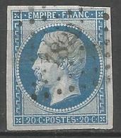 FRANCE - Oblitération Petits Chiffres LP 1820 MACHAULT (Ardennes) - Marcophilie (Timbres Détachés)