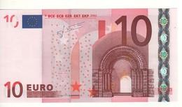 "10 EURO  ""T"" Irlanda    Firma Trichet     K 007 F4 /  FDS - UNC - EURO"