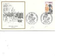 FRANCE FDC N° 1684 DOLE - 1970-1979