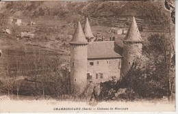 30 - CHAMBORIGAUD - Château De Montjoye - Chamborigaud