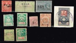 Suisse Anciens Timbres à Identifier - Briefmarken
