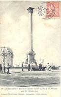 ALEXANDRIE EGYPTE TàD 18 MAI 06 = 1906 - TYPE MOUCHON 10 C. YT 24 - Alexandrie (1899-1931)
