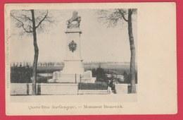 Quate-Bras Lez Genappe - Monument Brunswick ( Voir Verso ) - Genappe
