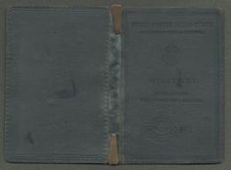 "08512 ""LIBRETTO N° 97991 - MINISTERO DELLA GUERRA (TRASPORTI MILITARI) - 1941 - XIX"" ORIG. - Organisaties"