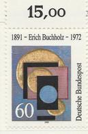 PIA - GERMANIA : 1991 : Centenario Della Nascita Del Pittore Erich Buchholz  - (Yv 1325) - Moderni