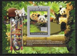 GUINEE  BF 1226  * * ( Cote 23e ) Ours Panda - Ours
