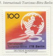 PIA - GERMANIA : 1991 : 25° Anniversario Della Borsa Internazionale Del Turismo A Berlino   - (Yv 1327) - Vacanze & Turismo
