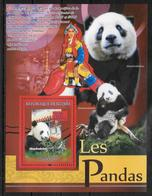GUINEE  BF 847  * * ( Cote 13e ) Ours Panda - Ours