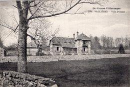 S2549 Cpa 23 Vallières - Villa Dumont - Andere Gemeenten