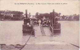 SAINTE-MARINE - Le Bac Traverse L'Odet Avec Voitures Et Piétons - France