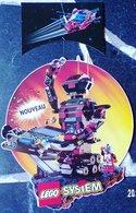 PUBLICITÉ LEGO SYSTEM DES ANNÉES 1980/1990 ? UN MOBILE DE 2 ÉLÉMENTS A SUSPENDRE 38X36cm - SITE Serbon63 - Duplo