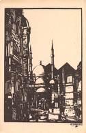 """08515 """"ESPOSIZIONE CISARI ALLA GALLERIA PESARO - MILANO APRILE / MAGGIO 1931 - XIX"""" CART. ORIG. NON SPED. - Esposizioni"""