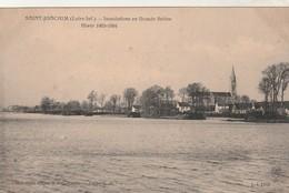 Rare Cpa St Joachim Inondations De La Grande Brière Hiver 1903-1904 - Saint-Joachim