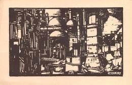 """08516 """"ESPOSIZIONE CISARI ALLA GALLERIA PESARO - MILANO APRILE / MAGGIO 1931 - XIX"""" CART. ORIG. NON SPED. - Esposizioni"""
