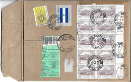 UNITED NATIONS Registered Airmail Protection For Refuges, 1995 50TH ANNIVERSARY OF THE UNITED NATIONS - Briefe U. Dokumente