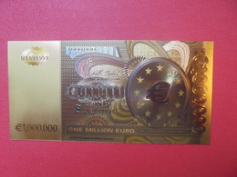 FICTIF 1.000.000 EURO N° NB099999 - Privéproeven