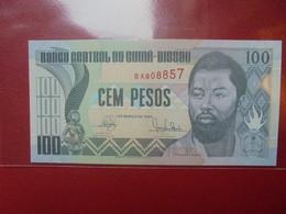 GUINEE-BISSAU 100 PESOS 1990 PEU CIRCULER/NEUF - Guinee-Bissau