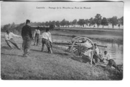 LUNEVILLE Passage De La Meurthe Au Pont De Moncel - Luneville
