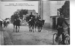 LUNEVILLE    M. Le Général Cherfils Commandant La Brigade De Dragonset Son état-major - Luneville