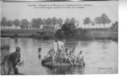 LUNEVILLE    Passage De Meurthe Par L'artillerie De La 2ème Division - Luneville