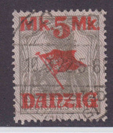 Danzig MiNr. 45II Gef.gest. - Danzig
