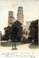 CARTE POSTALE ANCIENNE De ROUEN (Environs) - L'Abbaye De Jumièges - Rouen
