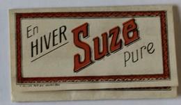 Cahier Papier à Cigarettes Complet Publicitaire SUZE - Around Cigarettes