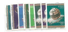 PAR001 - PARAGUAY  - TELECOMUNICAZIONI MONDIALI - OLIMPIADI DI TOKIO 1964 - NON DENTELLATA - Estate 1964: Tokio