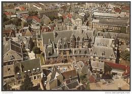 Cpm BOURGES (18) Le Palais Jacques Coeur,vu D'avion (bon Etat) - Bourges